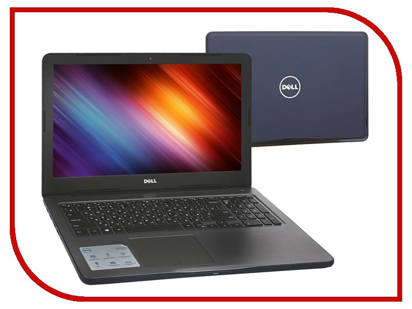 Ноутбук Dell Inspiron 5567 5567-0247 Intel Core i7-7500U 2.7GHz/8192Mb/1000Gb/DVD-RW/AMD Radeon R7 M445/Wi-Fi/Bluetooth/Cam/15.6/1920x1080/Linux<br>