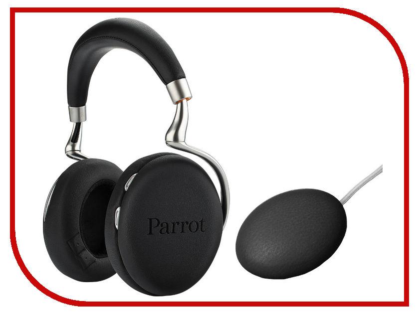 Гарнитура Parrot Zik 3 Black Leather-Grain + беспроводное зарядное устройство PF562122<br>