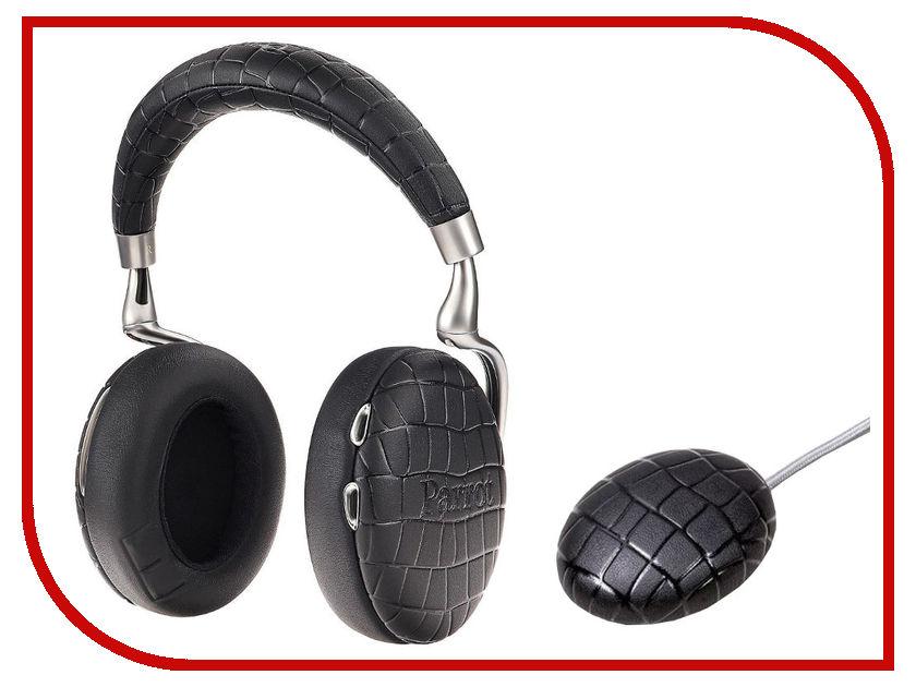 Гарнитура Parrot Zik 3 Black Croc + беспроводное зарядное устройство PF562120
