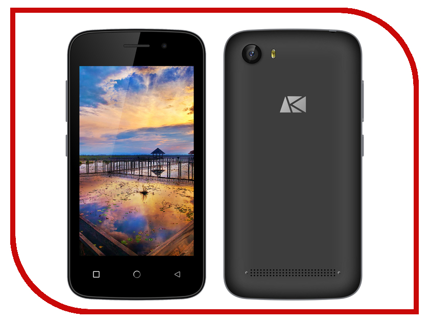 Сотовый телефон Ark Benefit S404 Black<br>
