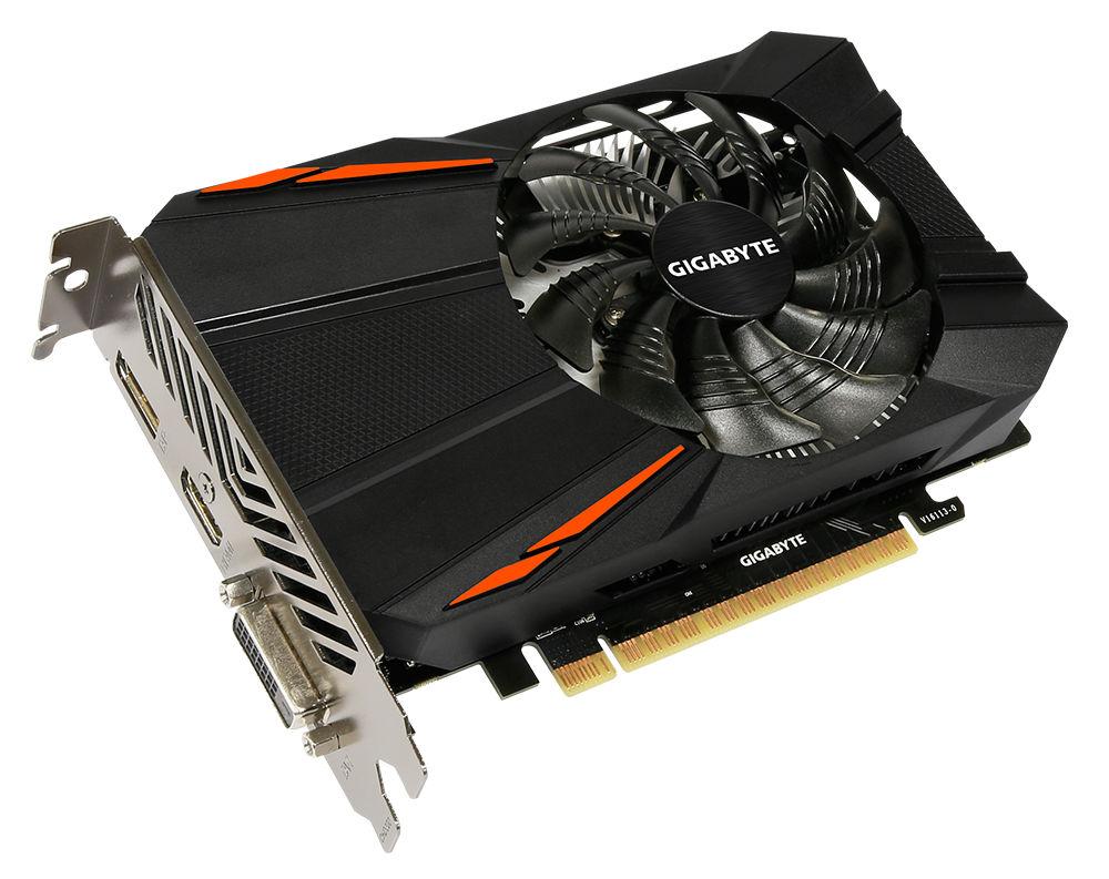 Видеокарта GigaByte GeForce GTX 1050 Ti 1290Mhz PCI-E 3.0 4096Mb 7008Mhz 128 bit DVI HDMI HDCP GV-N105TD5-4GD видеокарта inno3d geforce gtx 1050 ti twin x2 1290mhz pci e 3 0 4096mb 7000mhz 128 bit dvi hdmi hdcp n105t 1ddv m5cm