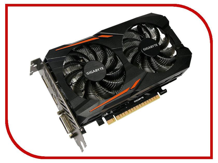 Видеокарта GigaByte GeForce GTX 1050 Ti 1316Mhz PCI-E 3.0 4096Mb 7008Mhz 128 bit DVI HDMI HDCP OC GV-N105TOC-4GD видеокарта gigabyte geforce gtx 750ti 2g