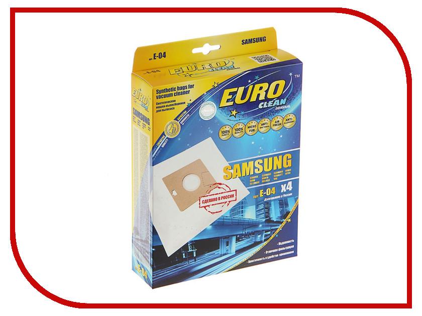 Аксессуар EURO Clean E-04/4 мешок-пылесборник для Samsung VP-95