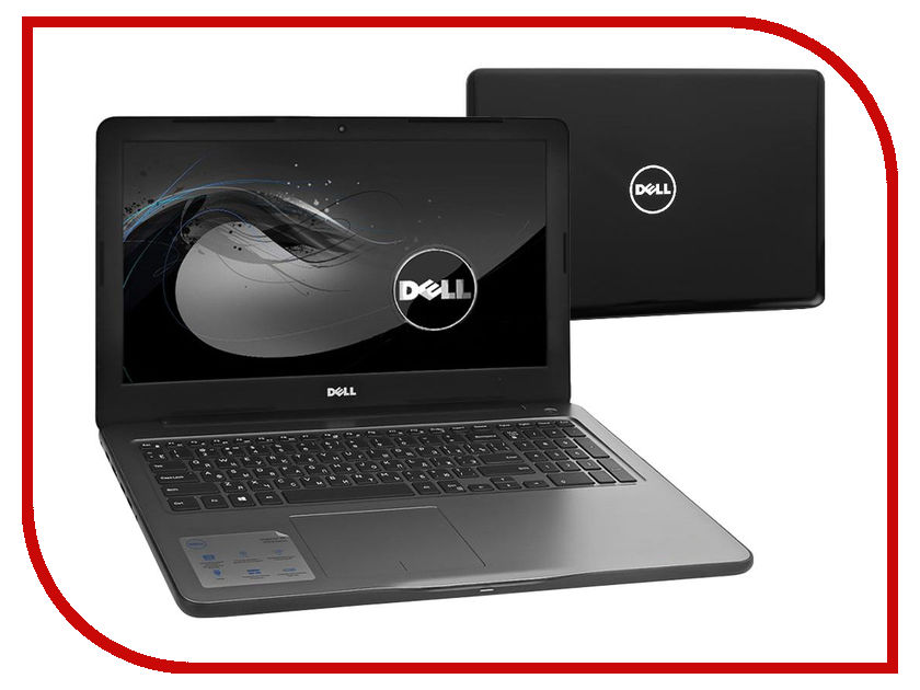 Ноутбук Dell Inspiron 5567 5567-3263 Intel Core i5-7200U 2.5 GHz/8192Mb/1000Gb/DVD-RW/AMD Radeon R7 M445/Wi-Fi/Bluetooth/Cam/15.6/1920x1080/Windows 10 64-bit<br>