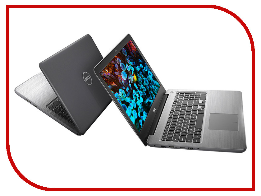 Ноутбук Dell Inspiron 5567 5567-3287 (Intel Core i7-7500U 2.7GHz/8192Mb/1000Gb/DVD-RW/AMD Radeon R7 M445/Wi-Fi/Bluetooth/Cam/15.6/1920x1080/Windows 10 64-bit)<br>