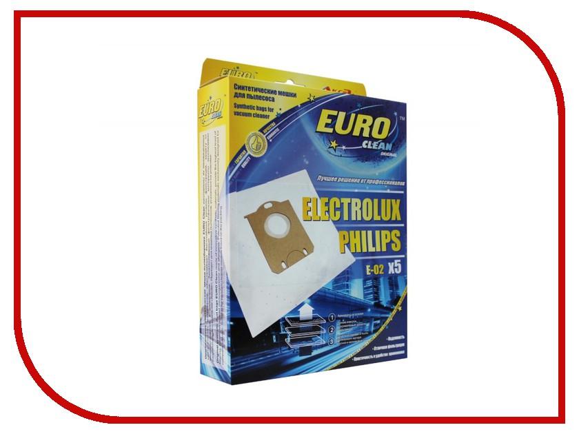 Аксессуар Euro Clean E-02 мешок-пылесборник