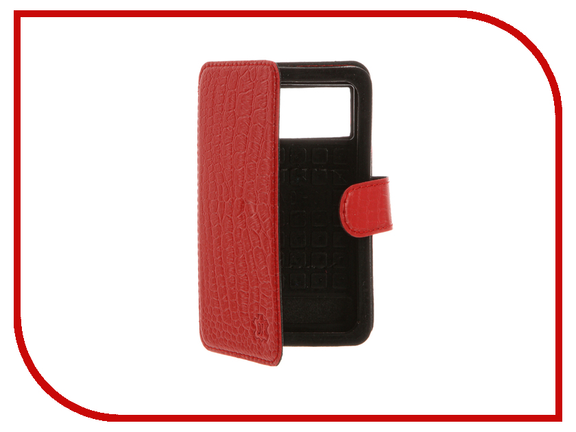 Аксессуар Чехол Norton 4-4.3-inch универсальный Red Reptile ovleng ip630 in ear earphone w microphone black silver
