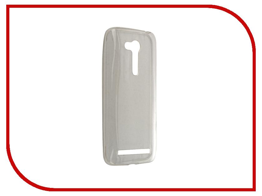 Аксессуар Чехол ASUS Zenfone Go ZB450KL Zibelino Ultra Thin Case White ZUTC-ASU-ZB450KL-WHT аксессуар чехол asus zenfone go tv zb551kl zibelino classico black zcl asu zb551kl blk