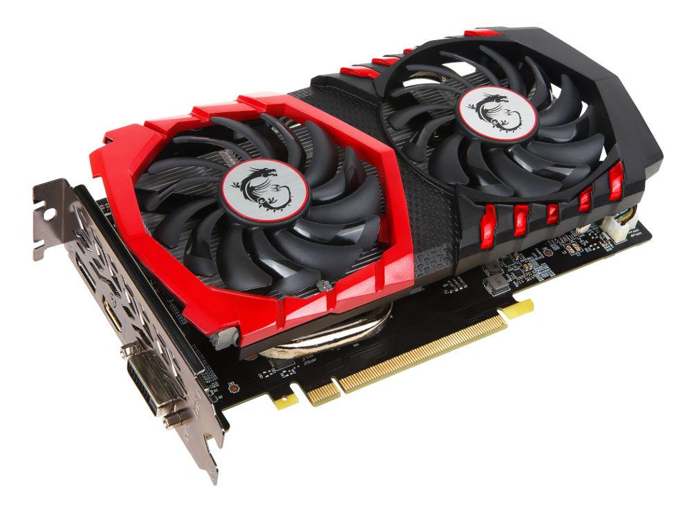 Видеокарта MSI GeForce GTX 1050 1442Mhz PCI-E 3.0 2048Mb 7108Mhz 128 bit DVI HDMI HDCP GAMING X GTX 1050 GAMING X 2G