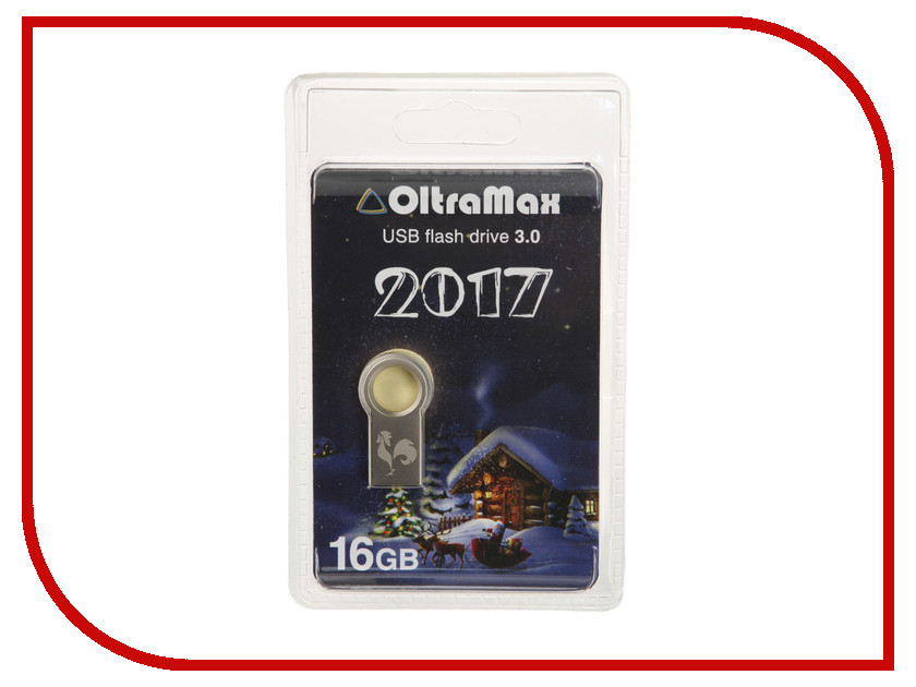 USB Flash Drive 16Gb - OltraMax Key 3.0 OM016GB2017