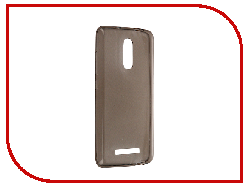Аксессуар Чехол Xiaomi Redmi Note 3 Zibelino Ultra Thin Case Black ZUTC-XMI-RDM-NOT3-BLK