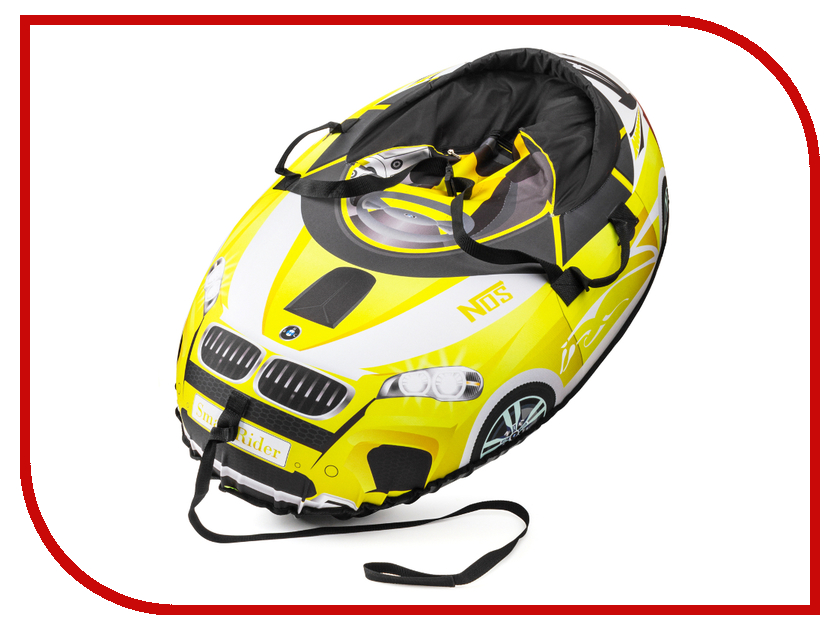 Тюбинг Small Rider Snow Cars 2 110x86cm BM Yellow 4097278