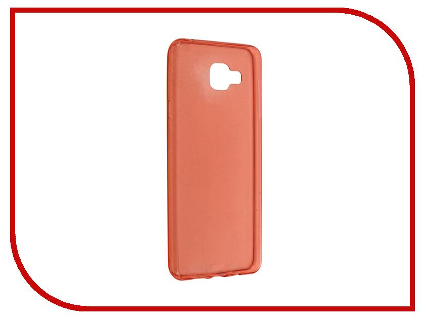 Аксессуар Чехол-накладка Samsung Galaxy A7 BROSCO Red SS-A7-TPU-RED