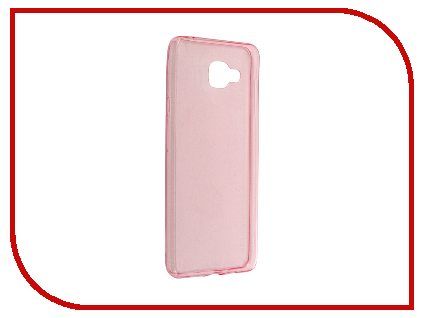 все цены на Аксессуар Чехол-накладка Samsung Galaxy A7 BROSCO Pink SS-A7-TPU-PINK