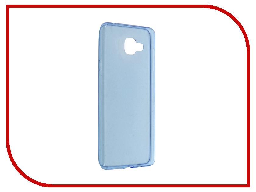 Аксессуар Чехол-накладка Samsung Galaxy A7 BROSCO Blue SS-A7-TPU-BLUE<br>