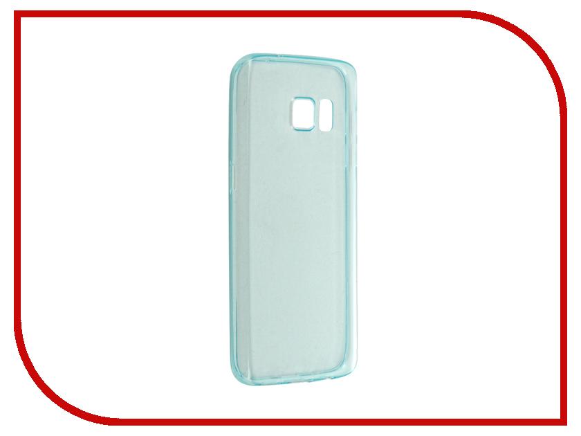 Аксессуар Чехол-накладка Samsung Galaxy S7 BROSCO Green SS-S7-TPU-GREEN<br>