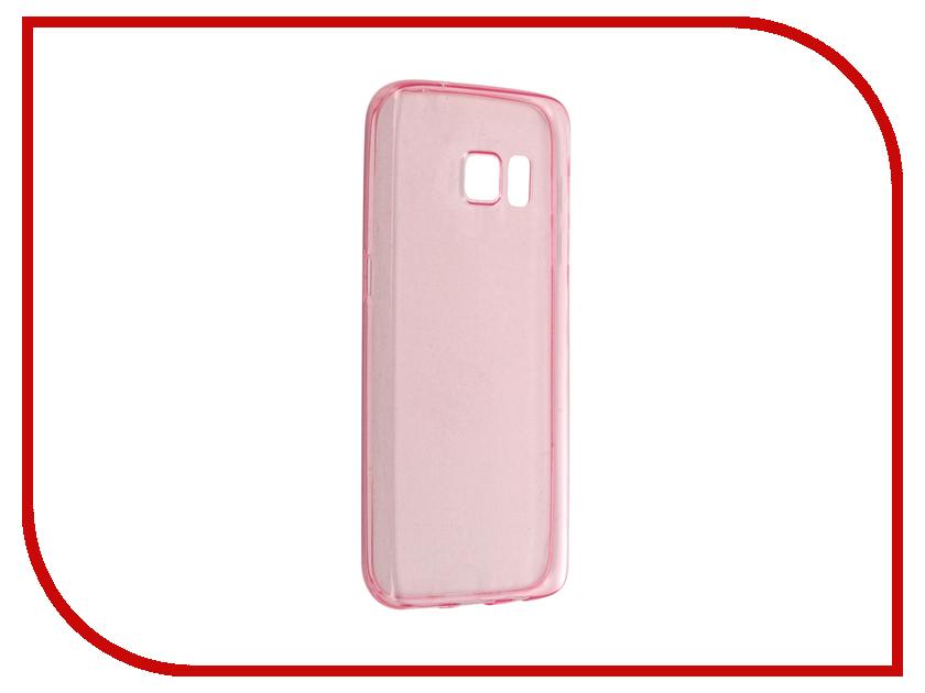 Аксессуар Чехол-накладка Samsung Galaxy S7 BROSCO Pink SS-S7-TPU-PINK pink samsung s7