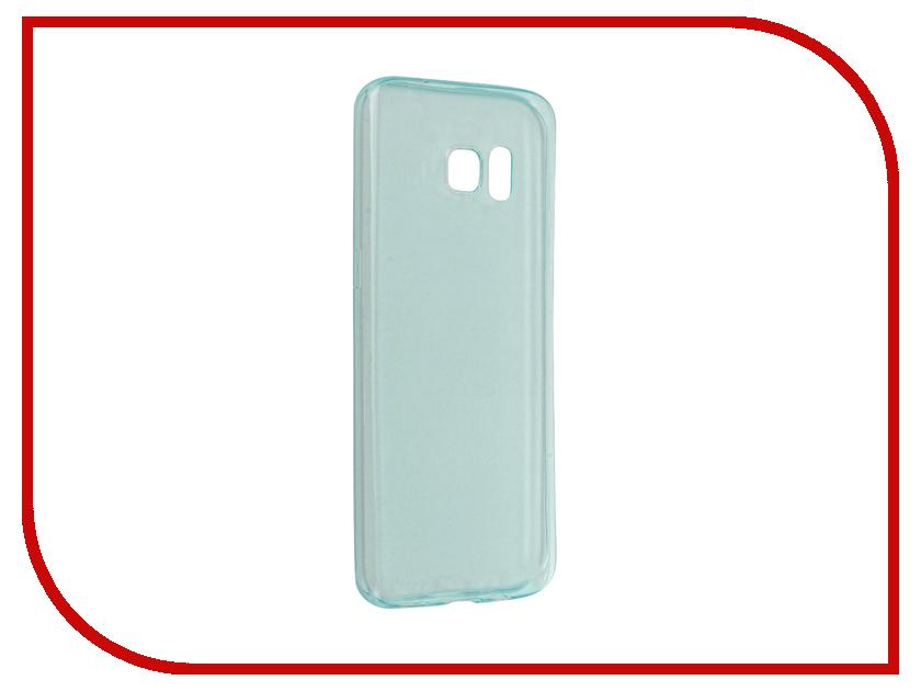 Аксессуар Чехол-накладка Samsung Galaxy S7 Edge BROSCO Green SS-S7E-TPU-GREEN<br>