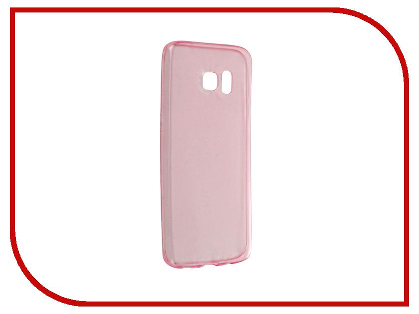 Аксессуар Чехол-накладка Samsung Galaxy S7 Edge BROSCO Pink SS-S7E-TPU-PINK