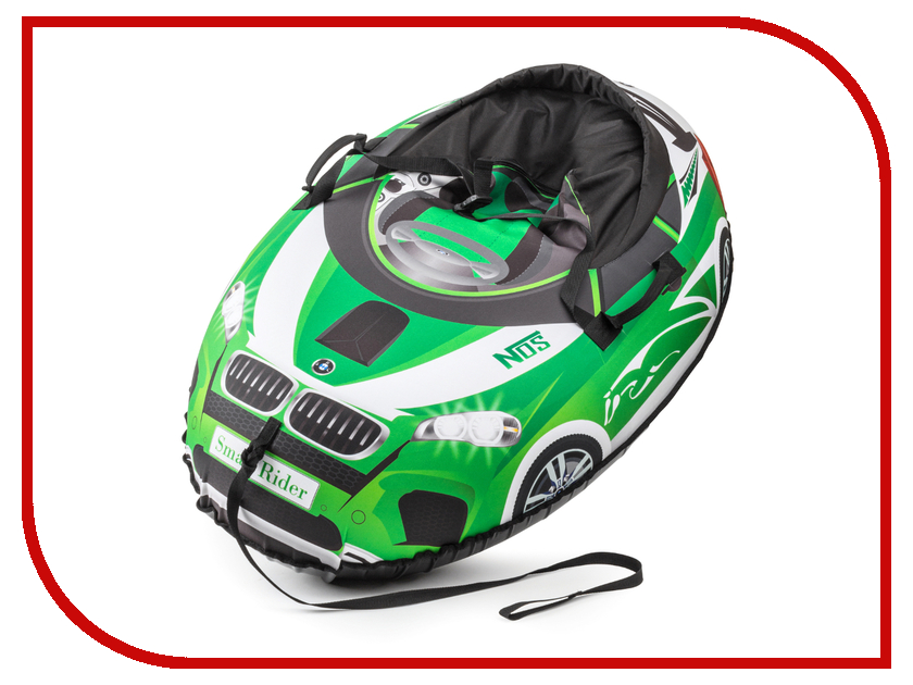 Тюбинг Small Rider Snow Cars 2 110x86cm BM Green 3687713<br>