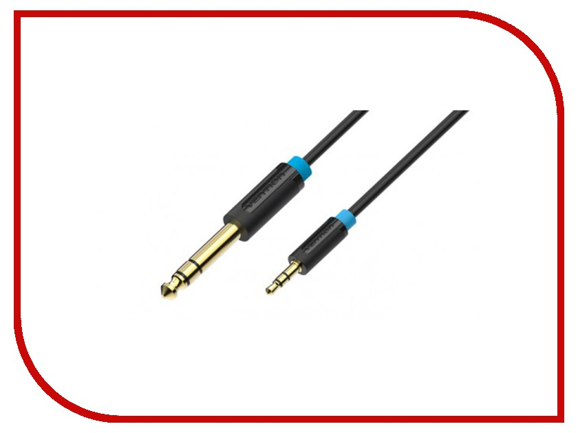 Аксессуар Vention 6.5mm Jack M - 3.5mm Jack M 2m BABBH<br>