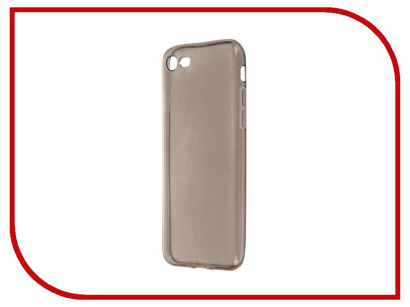 Аксессуар Чехол Krutoff для APPLE iPhone 7 Transparent-Black 11786 аксессуар чехол накладка krutoff для apple iphone 5 5s se transparent black 10672