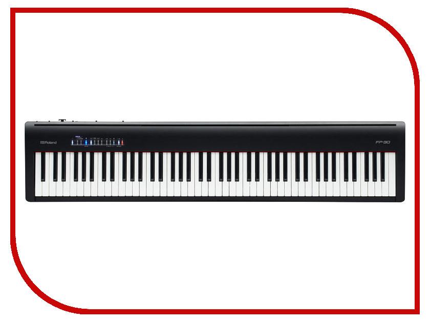 Цифровое фортепиано Roland FP-30-BK Black