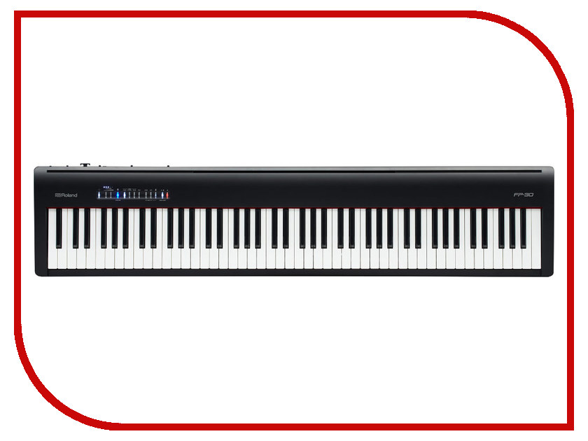 Цифровое фортепиано Roland FP-30-BK Black roland fp 740 print carriage board