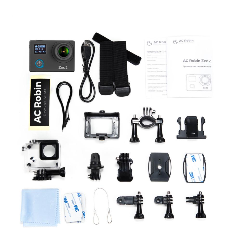 Экшн-камера AC Robin Zed2 Black