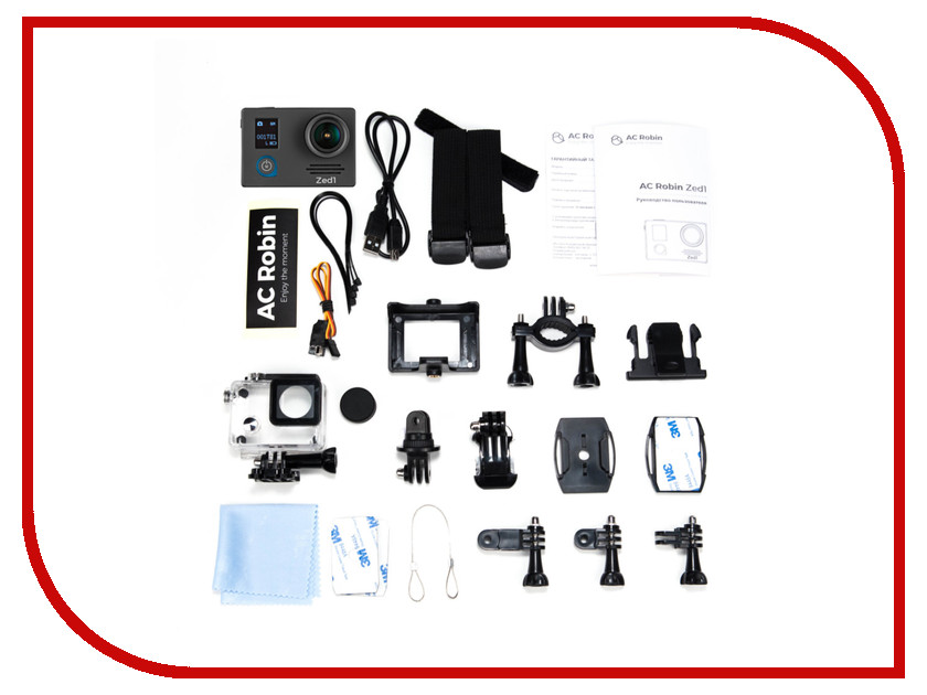 Экшн-камера AC Robin Zed 1 Black