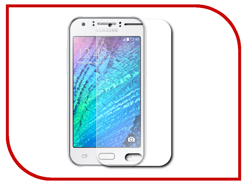 Аксессуар Защитное стекло Samsung Galaxy J1 2016 SM-J120F/DS Svekla 0.26mm ZS-SVSGJ120F чехол для samsung galaxy j1 2016 sm j120f ds celly gelskin прозрачный