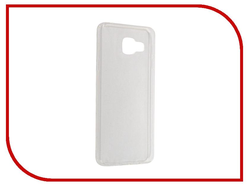 Аксессуар Чехол Samsung SM-A310F Galaxy A3 2016 Svekla Transparent SV-SGA310F-WH аксессуар чехол lenovo vibe c2 k10a40 svekla transparent sv lek10a40 wh