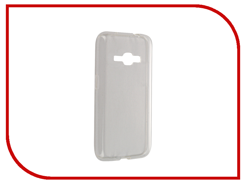 Аксессуар Чехол Samsung SM-J120F Galaxy J1 2016 Svekla Transparent SV-SGJ120F-WH<br>