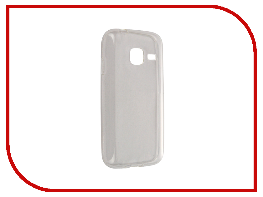 Аксессуар Чехол Samsung Galaxy J1 Mini 2016 Svekla Transparent SV-SGJ105F-WH