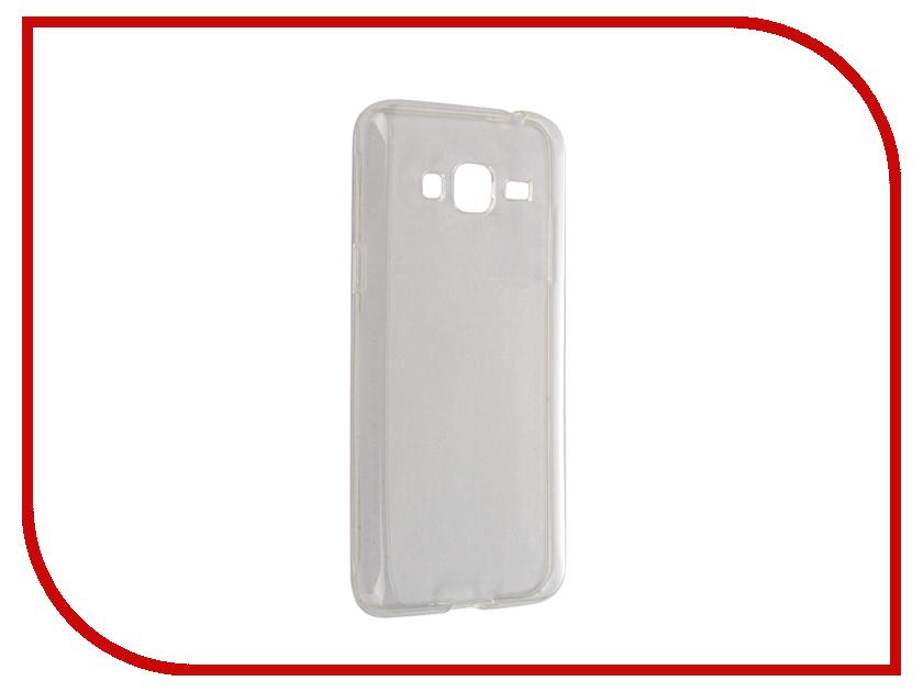 Аксессуар Чехол Samsung Galaxy J3 J320 2016 Svekla Transparent SV-SGJ320P-WH<br>