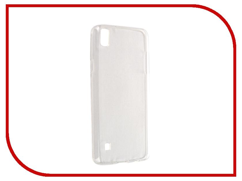 Аксессуар Чехол LG X Style Svekla Transparent SV-LGXS-WH аксессуар чехол lg x style gecko transparent glossy red s g lgxs red
