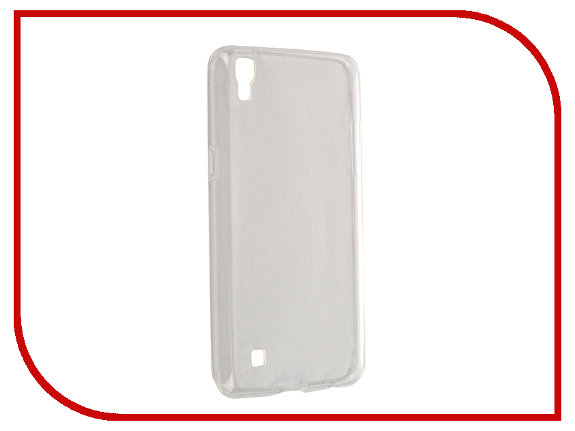 Аксессуар Чехол LG X Power Svekla Transparent SV-LGXP-WH<br>