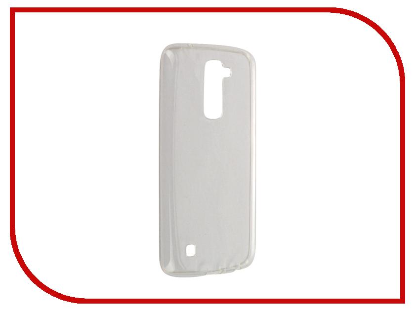 Аксессуар Чехол LG K10 Svekla Transparent SV-LGK10-WH<br>