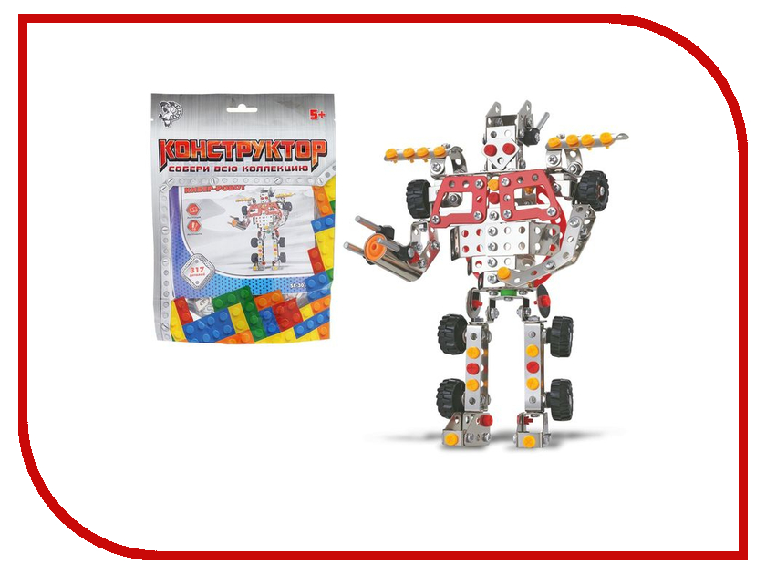 Конструктор Забияка Кибер-Робот 1272757 конструктор конструктор забияка в мире электроники 1537670