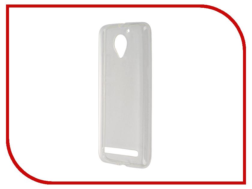 Аксессуар Чехол Lenovo Vibe C2 K10a40 Svekla Transparent SV-LEK10A40-WH смартфон lenovo vibe c2 8gb k10a40 black