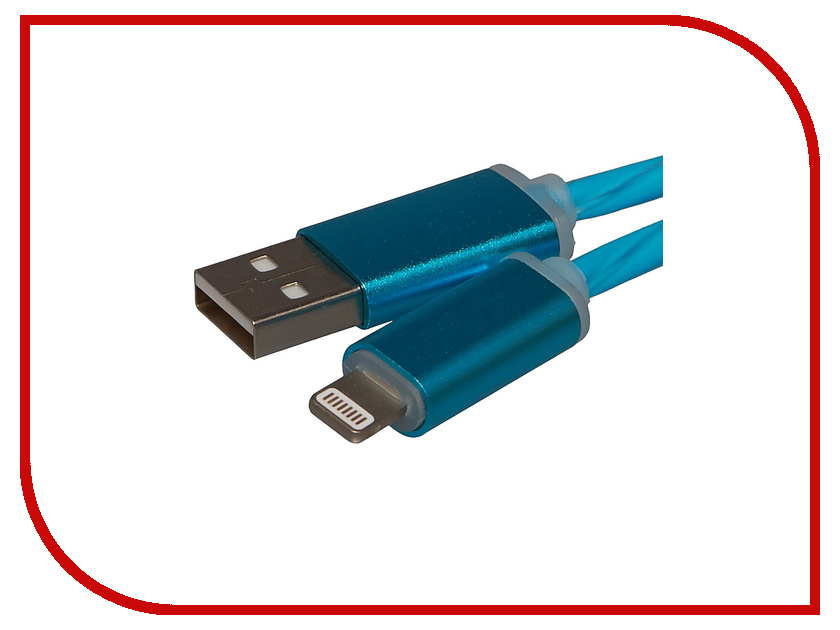 Акустическая система для iPhone/iPad/iPod WIIIX USB - 8 pin 1m Blue CBL710-U8-10BU<br>