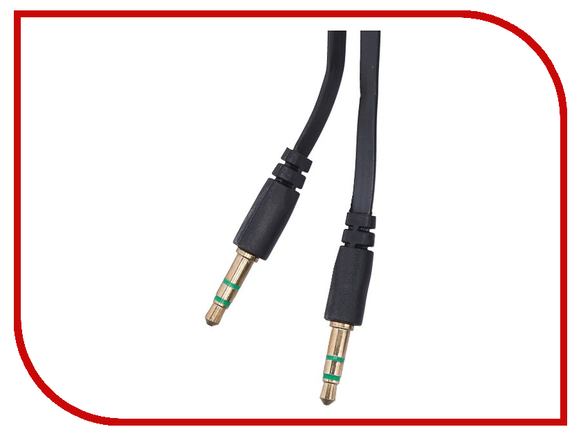 Аксессуар WIIIX 3.5 Jack/M 1m Black CBA20-35-10B