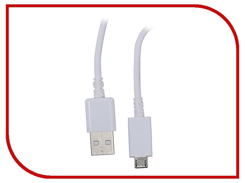Аксессуар WIIIX USB - Micro USB 1m White CB600-2A-UMU-10W<br>