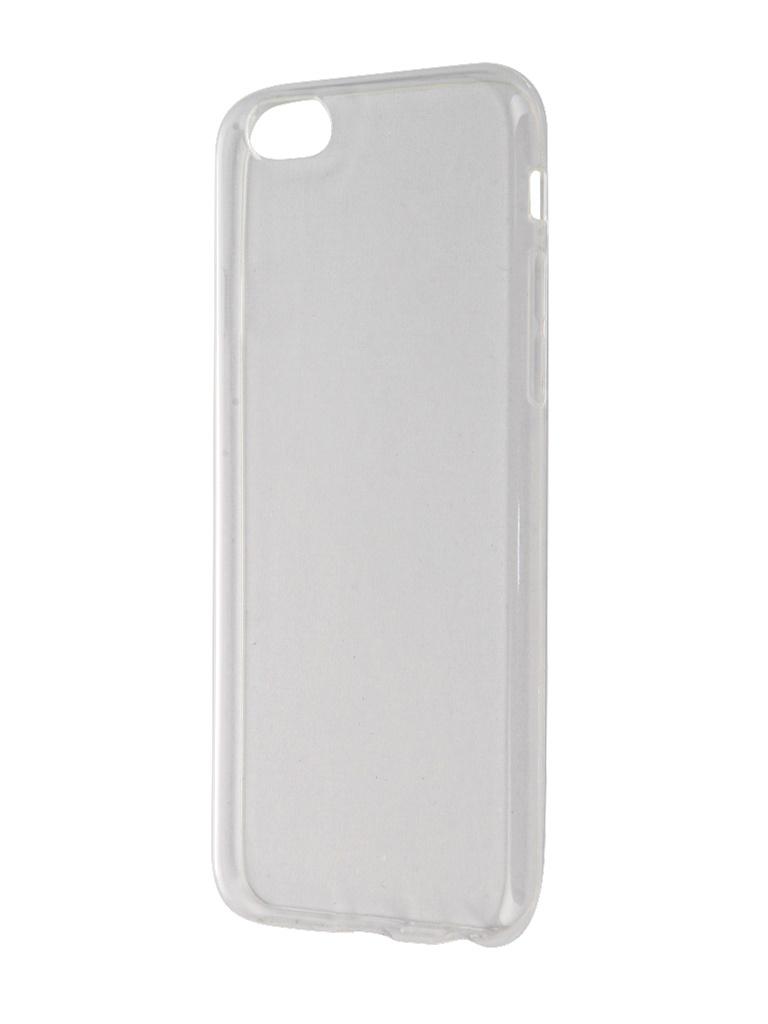 Аксессуар Чехол Svekla для APPLE iPhone 6 / 6S Transparent SV-AP6/6S-WH аксессуар чехол gecko для apple iphone 6 transparent white s g ip6 1 wh