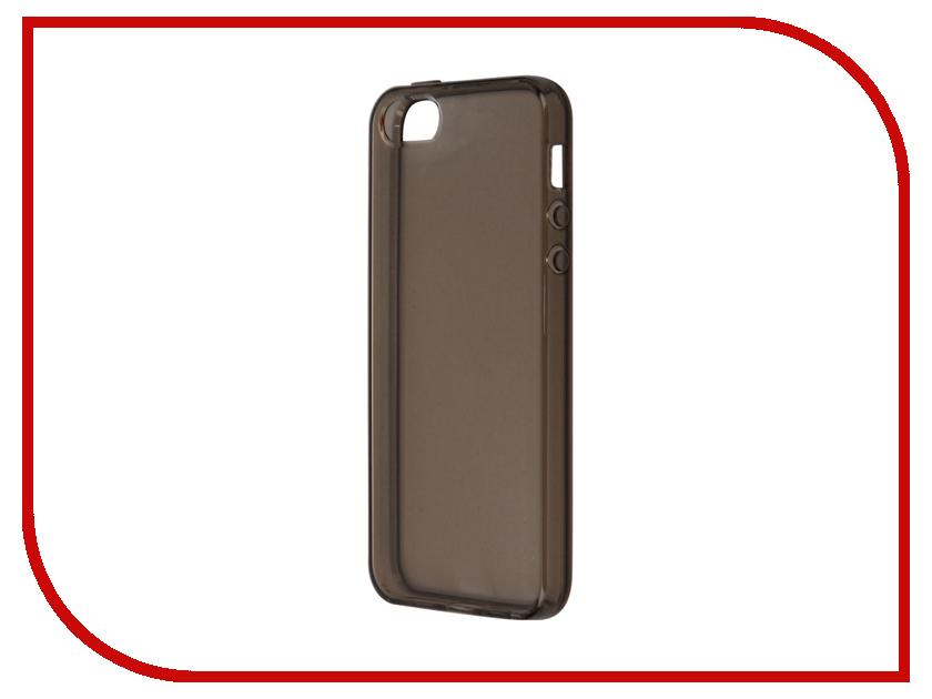 все цены на Аксессуар Чехол Svekla для APPLE iPhone 5/5S/SE Grey SV-AP5/5S-BL онлайн
