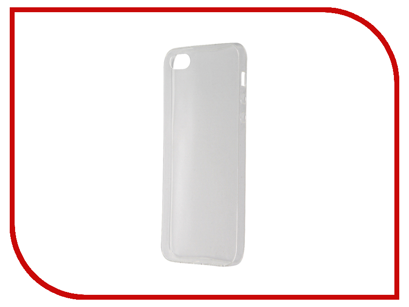 Аксессуар Чехол для APPLE iPhone 5 / 5S / SE Svekla Transparent SV-AP5/5S-WH аксессуар solomon iphone 5 5s se 22 5cm white