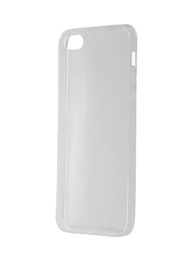 где купить Аксессуар Чехол Svekla для APPLE iPhone 5 / 5S / SE Transparent SV-AP5/5S-WH дешево