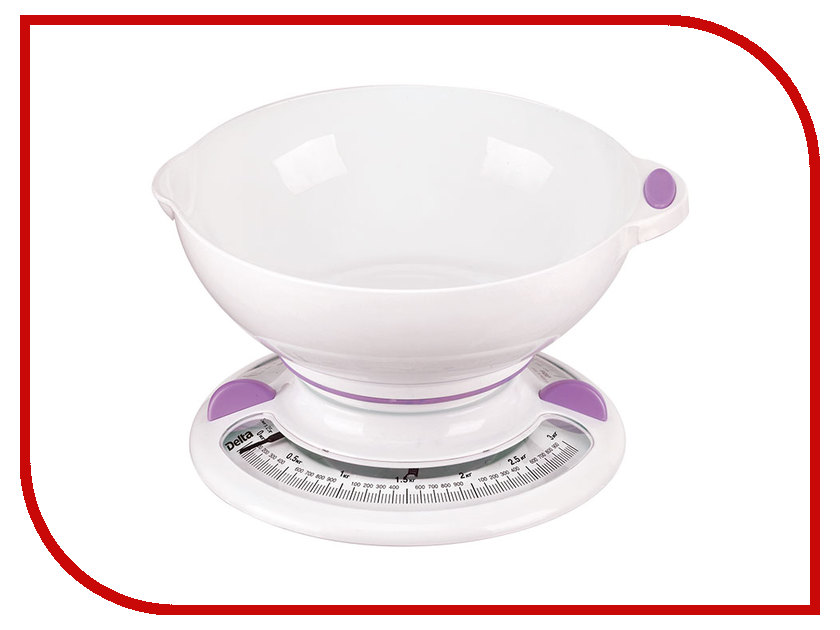 Весы Delta КСА-103 White-Violet