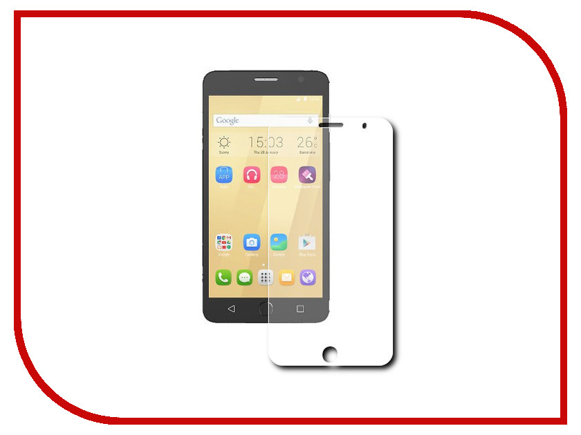 Аксессуар Защитное стекло Alcatel One Touch Pop Star 5070D Svekla 0.26mm ZS-SVALC5070D<br>