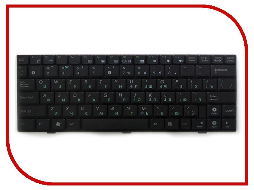Клавиатура TopON TOP-100318 для ASUS U1 / U1F / U1E / U2 / U2E Series Black клавиатура asus strix tactic pro cherry mx black black usb 90yh0081 b2ra00